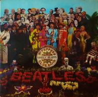 The BEATLES - LP - 33T - Disque Vinyle - Sgt. Peppers - 7027 - Vinyl-Schallplatten