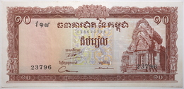 Cambodge - 10 Riels - 1962 - PICK 11c - SPL - Kambodscha