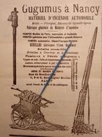 1912 SAPEURS POMPIERS - REGIMENT DE PARIS - GUGUMUS NANCY - COMMANDANT HESSE AMIENS - DROME - Books, Magazines, Comics