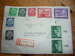 Brief Vom Deutschen Reich. Mi Von 1941. - Dokumente