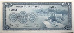 Cambodge - 100 Riels - 1972 - PICK 13b - NEUF - Cambodia