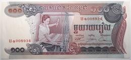 Cambodge - 100 Riels - 1974 - PICK 15b - SPL - Kambodscha
