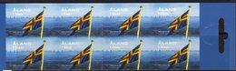Aland 2009 National Flag Booklet Of 8, MNH (EU) - Aland