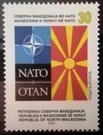 MACEDONIA NORTH 2020 MACEDONIA IN NATO MNH - Mazedonien