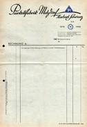 A8591 - Metzdorf - Parkettfabrik Herbert Schwarz - Rechnungformular - Allemagne