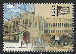 2017-ED. 5176 SERIE COMPLETA -  Centenario Plaza De Toros De Albacete (1917-2017)-USADO - 1931-Oggi: 2. Rep. - ... Juan Carlos I