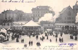 LAUSANNE - Les Fêtes Du Nouvel-An à Lausanne - Manège,attractions. - VD Vaud