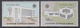 Europa Cept 1987 Cyprus 2v ** Mnh  (47804Z) ROCK BOTTOM - Europa-CEPT