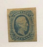 Confédérés. Scott 11 Or 12. Mint Hinged - 1861-65 Etats Confédérés