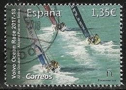2018-ED. 5243 -COMPLETA - VOLVO OCEAN RACE 2017-18. Alicante Puerto De Salida -USADO - 1931-Oggi: 2. Rep. - ... Juan Carlos I