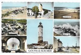 50 Gouville Sur Mer Divers Aspects (2 Scans) - Other Municipalities