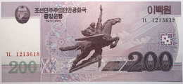 Corée Du Nord - 200 Won - 2008 - PICK 62a - NEUF - Corée Du Nord