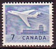F0489 - CANADA Yv N°338 ** AVIATION - 1952-.... Regering Van Elizabeth II