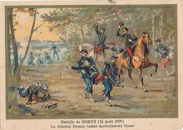 BATAILLE DE BORNY (14 AOUT 1870) LE GENERAL DECAEN TOMBE MORTELLEMENT BLESSE - Other
