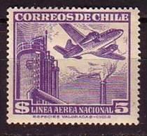 F1161 - CHILI CHILE AERIENNE Yv N°135 ** - Chile