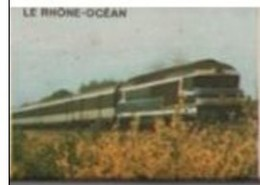 France Boite D'allumettes SEITA Vide - SNCF Train Le Rhône-Océan - Matchboxes