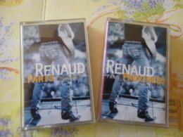 RENAUD LE CHANTEUR LOT DE 2 K7 RENAUD VOIR DESCRIPTIF ET PHOTO... REGARDEZ LES AUTRES (PLUSIEURS) - Cassettes Audio
