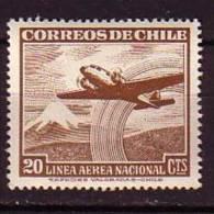 F1164 - CHILI CHILE AERIENNE Yv N°140 ** - Chile