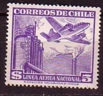 F1171 - CHILI AERIENNE Yv N°147 ** - Chile