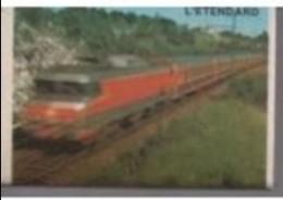 France Boite D'allumettes SEITA Vide - SNCF Train L'étendard - Matchboxes