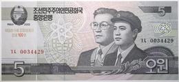 Corée Du Nord - 5 Won - 2012 - PICK CS9b - NEUF - Korea, Noord