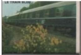 France Boite D'allumettes SEITA Vide - SNCF Train Le Train Bleu - Matchboxes
