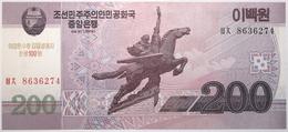 Corée Du Nord - 200 Won - 2013 - PICK CS13 - NEUF - Corée Du Nord