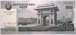 Corée Du Nord - 500 Won - 2013 - PICK CS14 - NEUF - Corée Du Nord