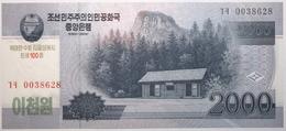 Corée Du Nord - 2000 Won - 2013 - PICK CS16 - NEUF - Corée Du Nord