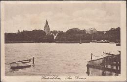 AK Hadersleben Am Damm Feldpost, Gelaufen 1917 - Danimarca