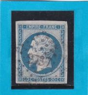 N° 14 B  -  PC 2737   ROUBAIX   ( 57 )  NORD   - REF 1447 + Variété - 1853-1860 Napoleon III