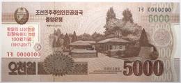 Corée Du Nord - 5000 Won - 2013 - PICK CS20s - NEUF - Korea, Noord