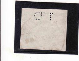 Czechoslovakia 1918, 25 Halier, Michel  Nr. 5, Perfin, Oblitere, Used - Gebruikt