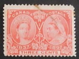 CANADA YT 41 OBLITÉRÉ ANNÉE 1897 - 1851-1902 Regering Van Victoria