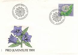 1991 Bärlauch - Allium Ursum - Heilpflanze - FDC - Pro Juventute