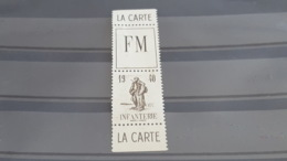 LOT503578 TIMBRE DE FRANCE NEUF FRANCHISE MILITAIRE - Franchise Stamps