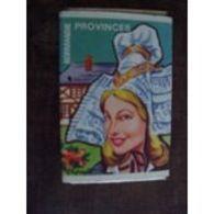 France Boite D'allumettes SEITA Vide - Province Normandie Coiffe De Femme - Matchboxes