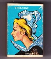 France Boite D'allumettes SEITA Pleine - Province Bretagne Coiffe De Femme - Matchboxes