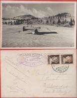 Serrada Di Folgaria (TN). Viaggiata 1930. Timbro Albergo Sannicolò - Italy