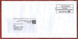 Dialogpost Mit Inhalt, Volksbank Leonberg, Port Paye Nuernberg, DV 01.20, 30 C, Deutsche Post, Datamatrix (94317) - BRD