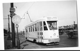 VILVOORDE (Belgique)  Photographie Tramway électrique TUAB Gros Plan Vers 1952 - Vilvoorde
