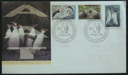 FDC - Gorfou De Schlegel, Manchot Royal, Expédition Antarctique(royal Penguin, Fur Seal, King Penguin, Macquarie Island) - Antarktis-Expeditionen