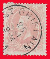 COB N° 34 - Belle Oblitération: St GHISLAIN - 1883 Léopold II