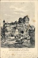 Artiste Cp Rohbock, L., Katzenelnbogen Im Rhein Lahn Kreis, Stahlstich Der Stadt Im Jahr 1835 - Deutschland