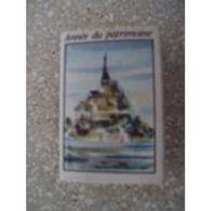 France Boite D'allumettes SEITA Vide - Année Du Patrimoine Monuments - Mont Saint Michel - Matchboxes