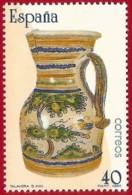 España. Spain. 1987. Artesania Española. Ceramica De Talavera S. XVIII - Porcelana