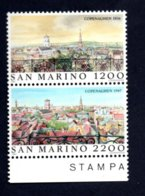 Francobolli San Marino Nuovi 1987 - 2 Valori - San Marino