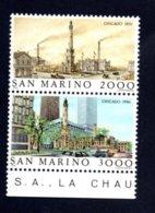 Francobolli San Marino Nuovi 1986 - 2 Valori - San Marino