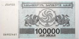 Géorgie - 100000 Laris - 1994 - PICK 48Ab - NEUF - Georgia