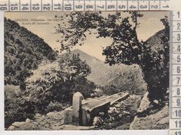 LEONESSA RIETI VALLEONINA NEL FONDO LA GOLA DEL TERMINILLO VG 1956 - Rieti